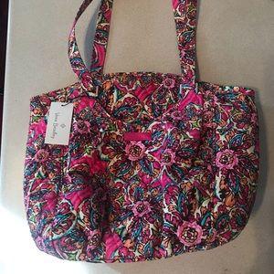 NWT Vera Bradley Glenna Sunburst Floral bag